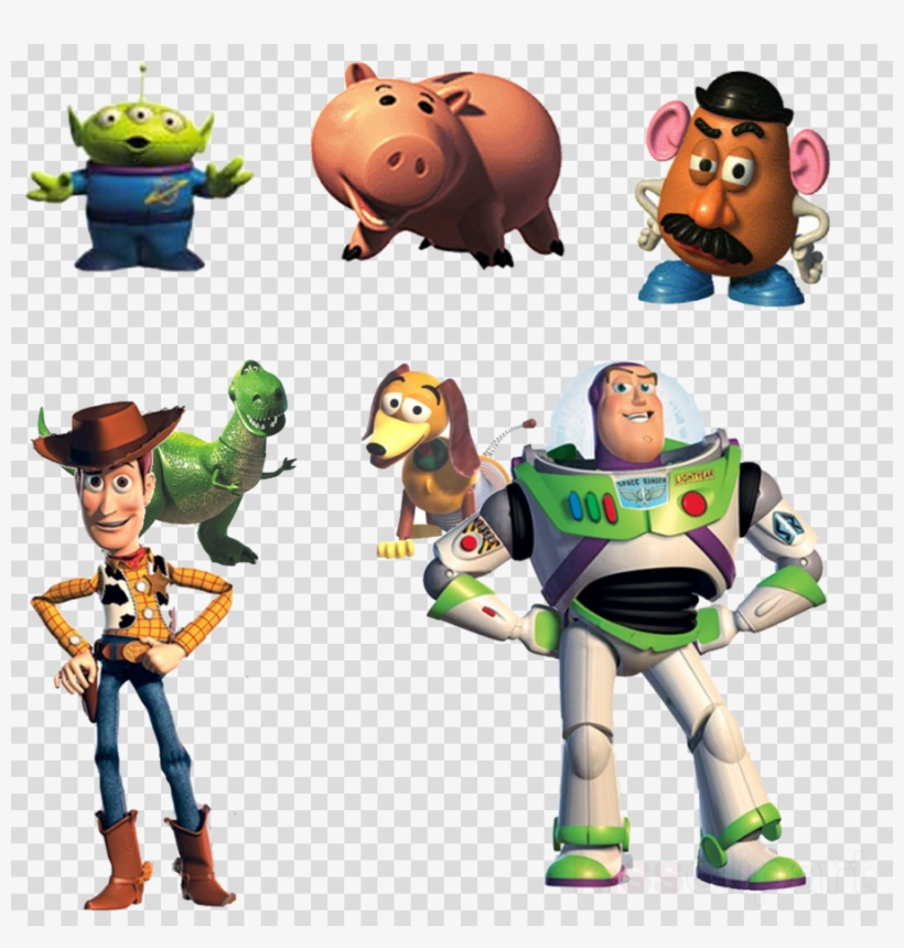 Download Toy Story Characters Png Clipart Sheriff Woody.