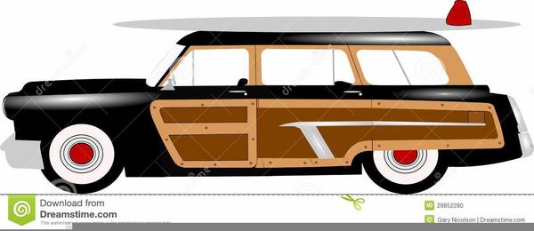 Woody Wagon Clipart.