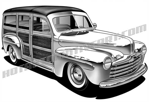 1946 Classic Woody.