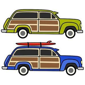 Station Wagon Clipart.