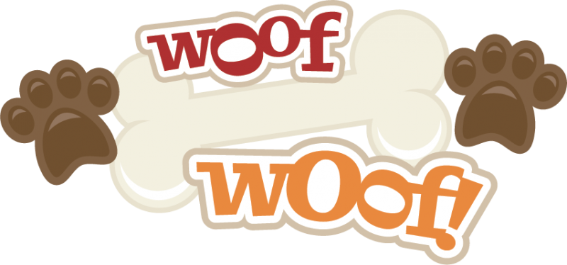 Woof download free clipart with a transparent background.