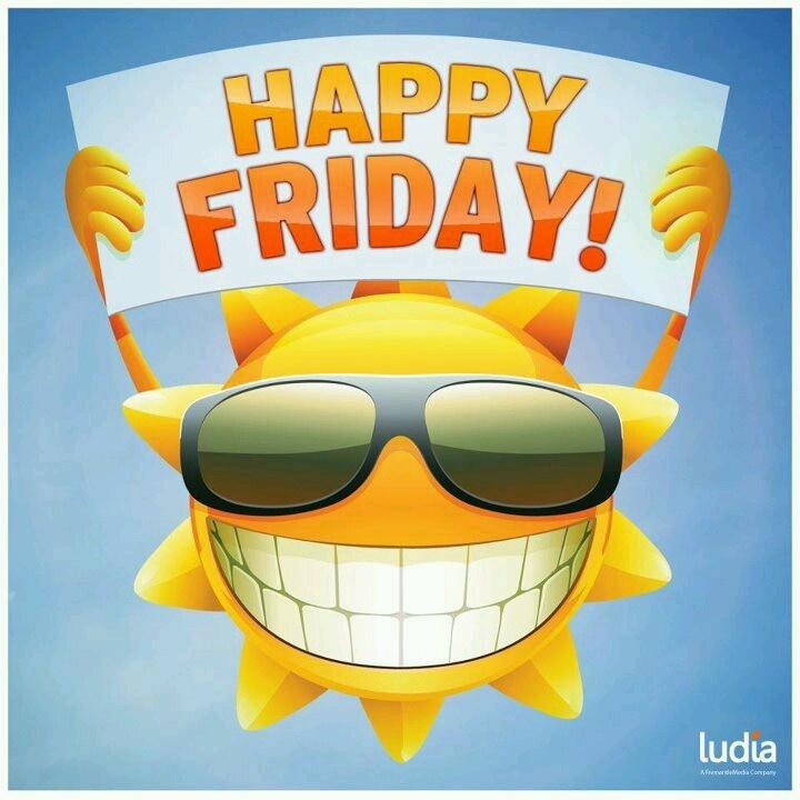 409 Happy Friday free clipart.
