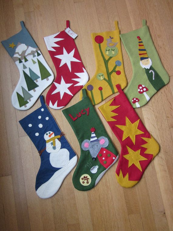 1000+ ideas about Felt Christmas Stockings on Pinterest.