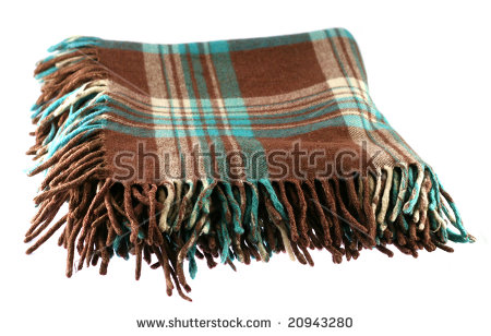 Blanket Isolated Stock Photos, Royalty.