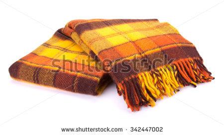 Folded Blanket Stock Images, Royalty.