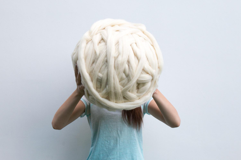 Giant yarn.
