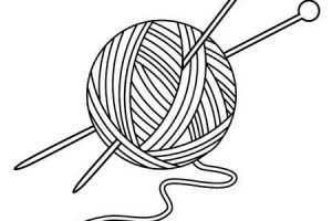 Wool clipart black and white » Clipart Portal.