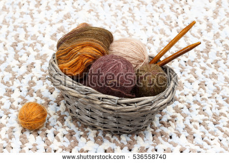 Tangled Yarn Stock Photos, Royalty.