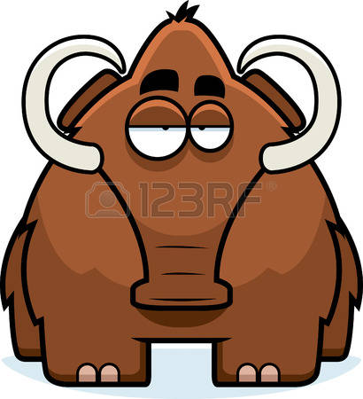 221 Woolly Mammoth Stock Vector Illustration And Royalty Free.