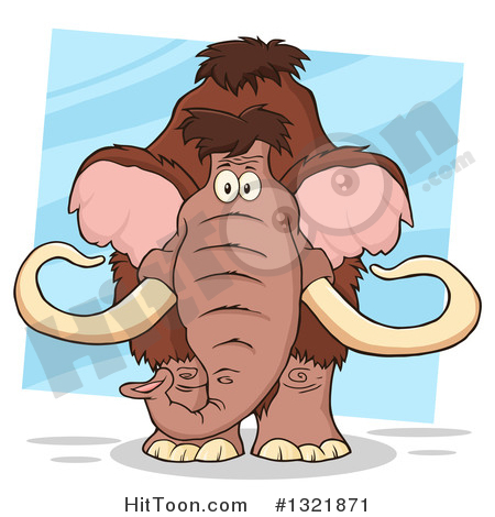 Woolly Mammoth Clipart #1.