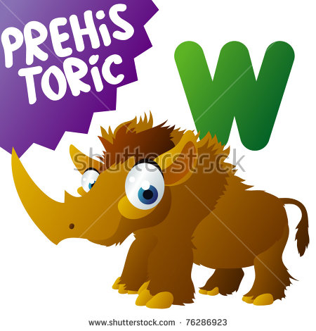 Woolly Rhinoceros Stock Photos, Royalty.