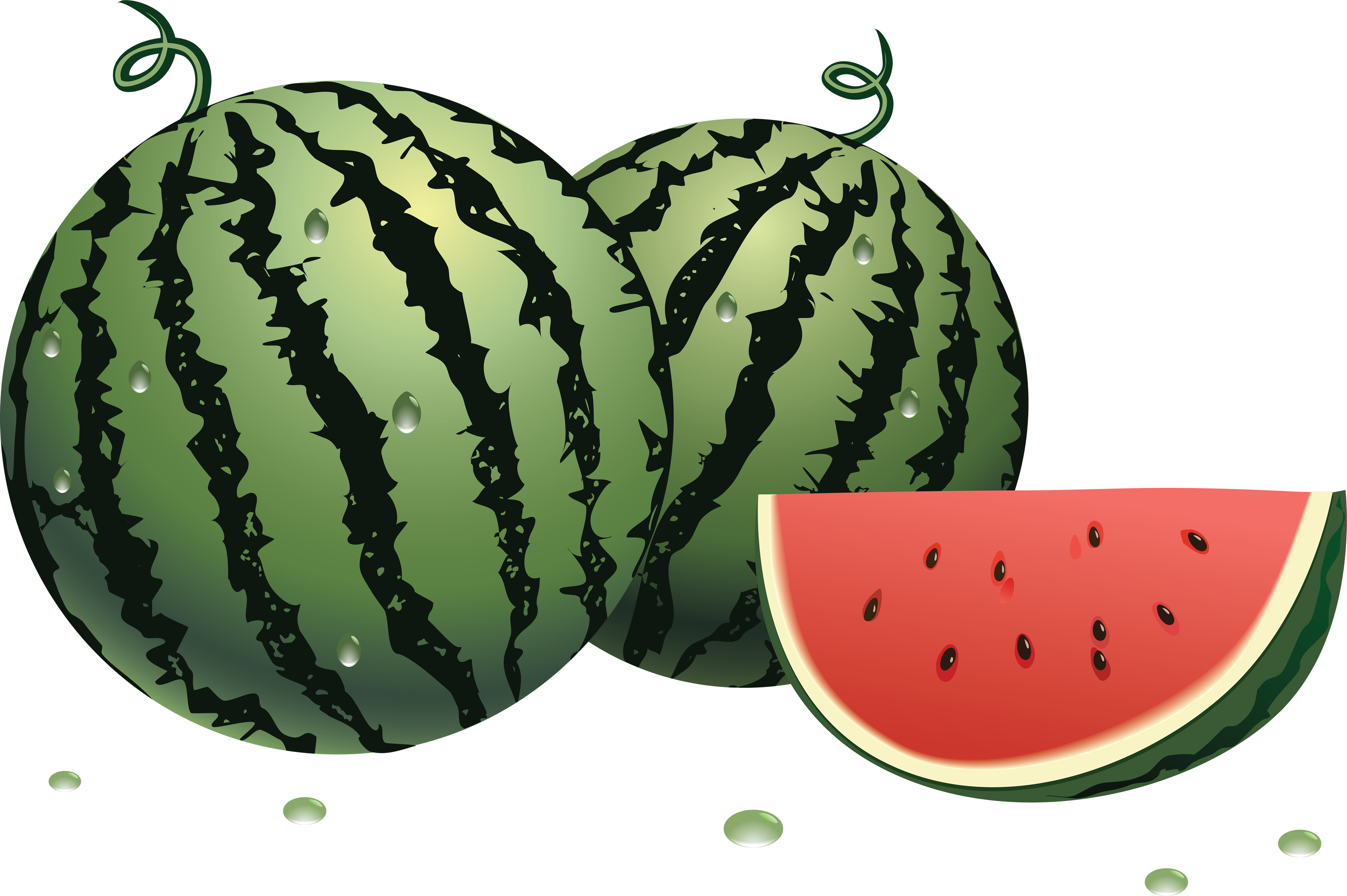 Watermelon png images, free download.