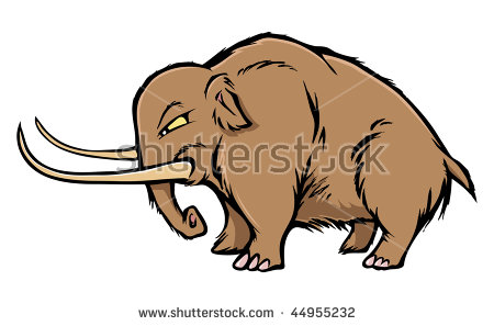 Woolly Mammoth Stock Images, Royalty.