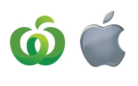 Apple demands Woolworths drops new logo.