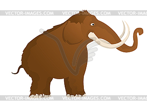 Wooly Mammoth Prints Clipart.