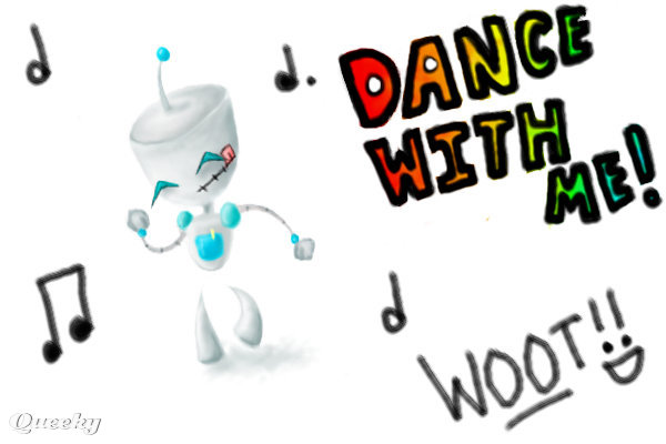 GIR DANCE!!! WOOT! by 1Two3.