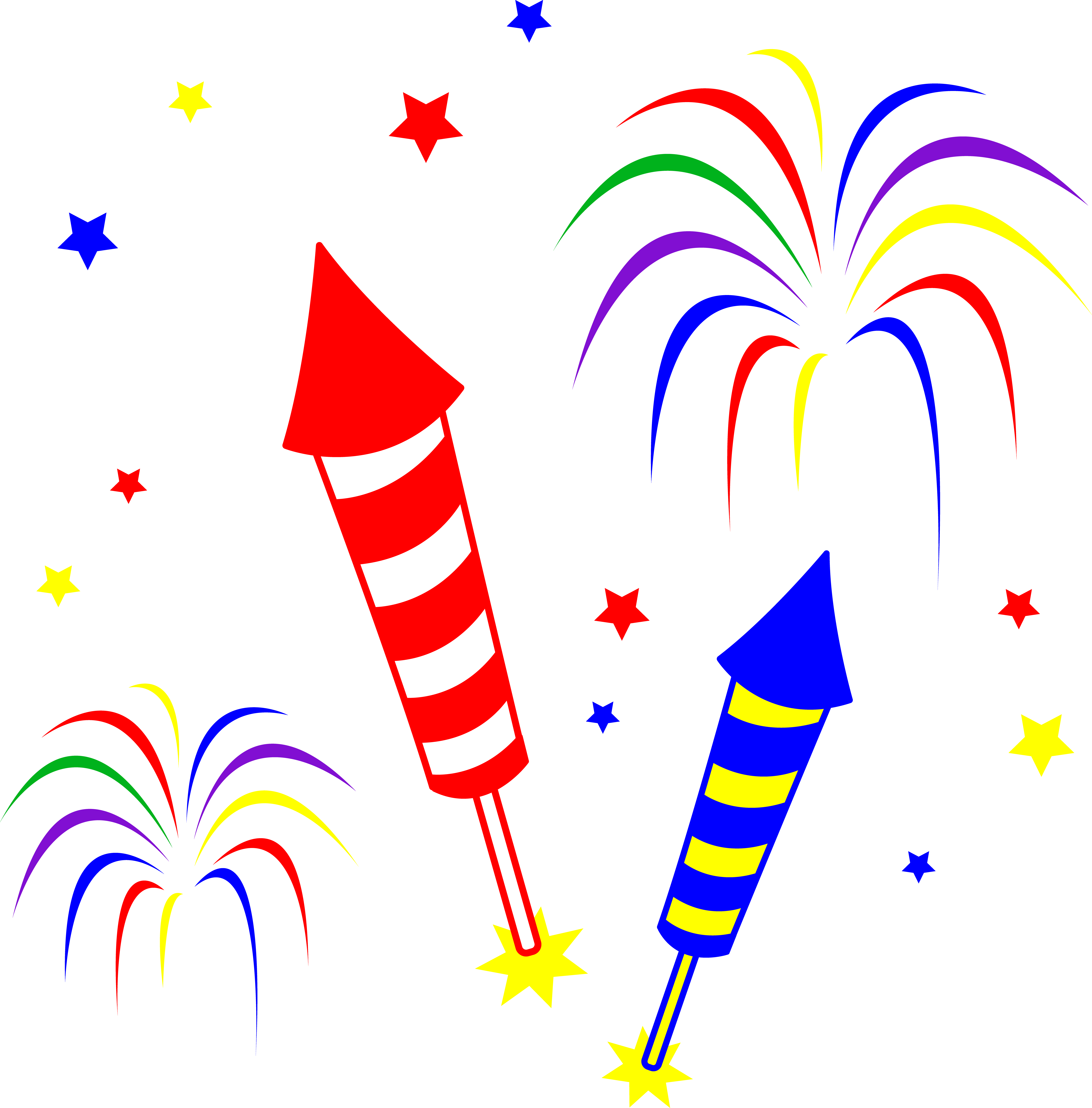 Clipart fireworks motion, Clipart fireworks motion.