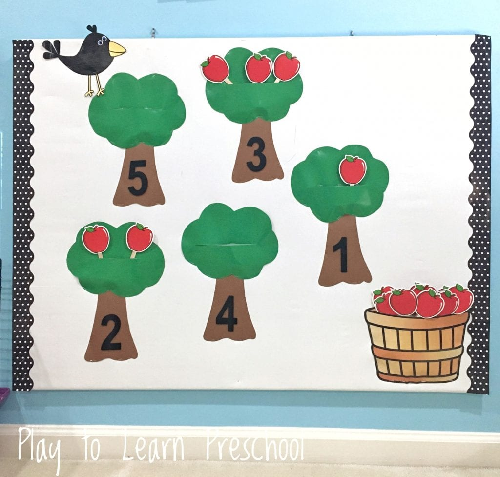 Bulletin Board Ideas for the Preschool Classroom.