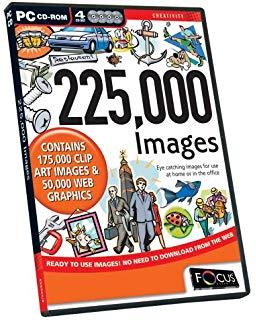 115,000 Clip Art Images (plus Bonus 50,000 Web Images.
