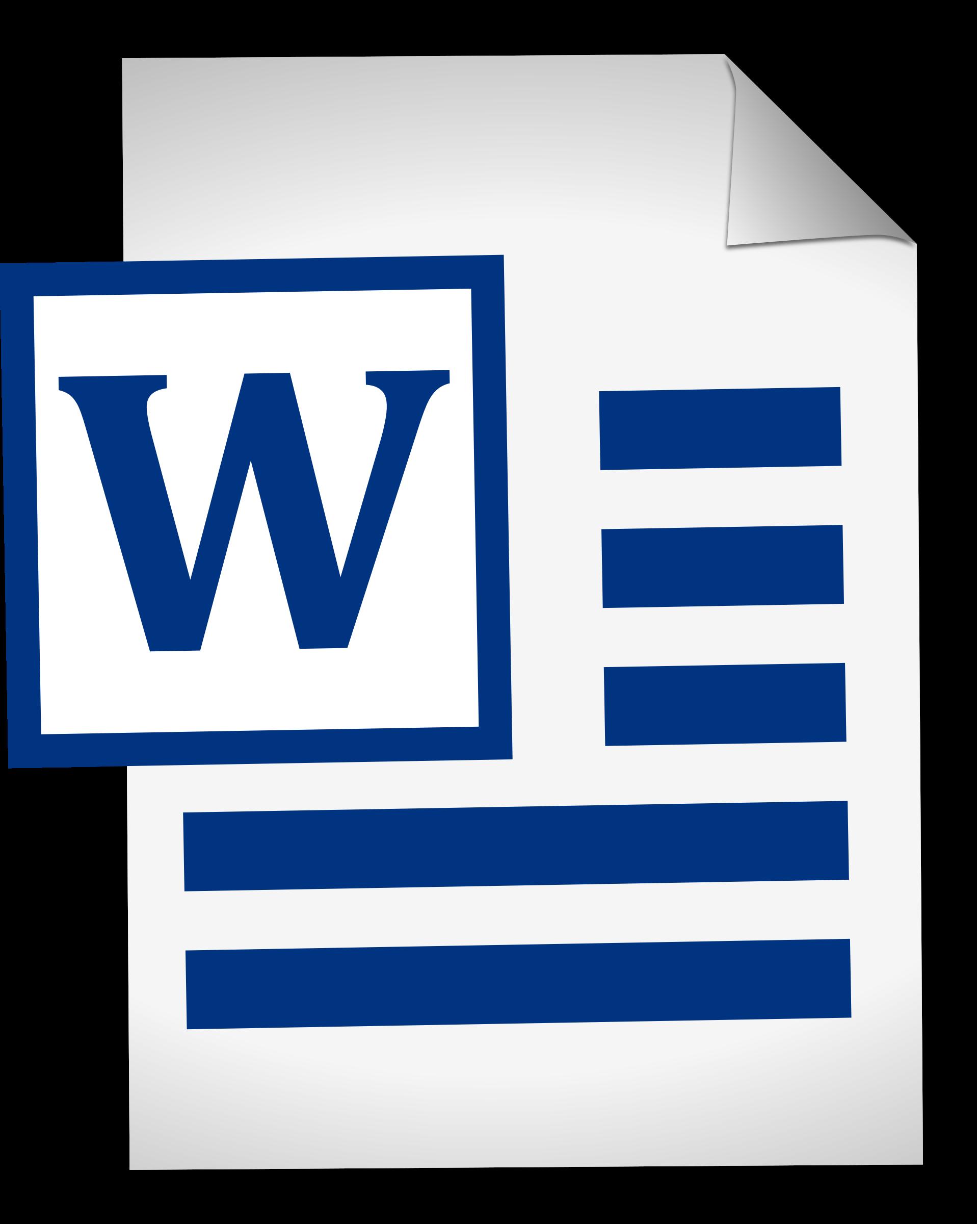 Microsoft clipart word 2010, Microsoft word 2010 Transparent.