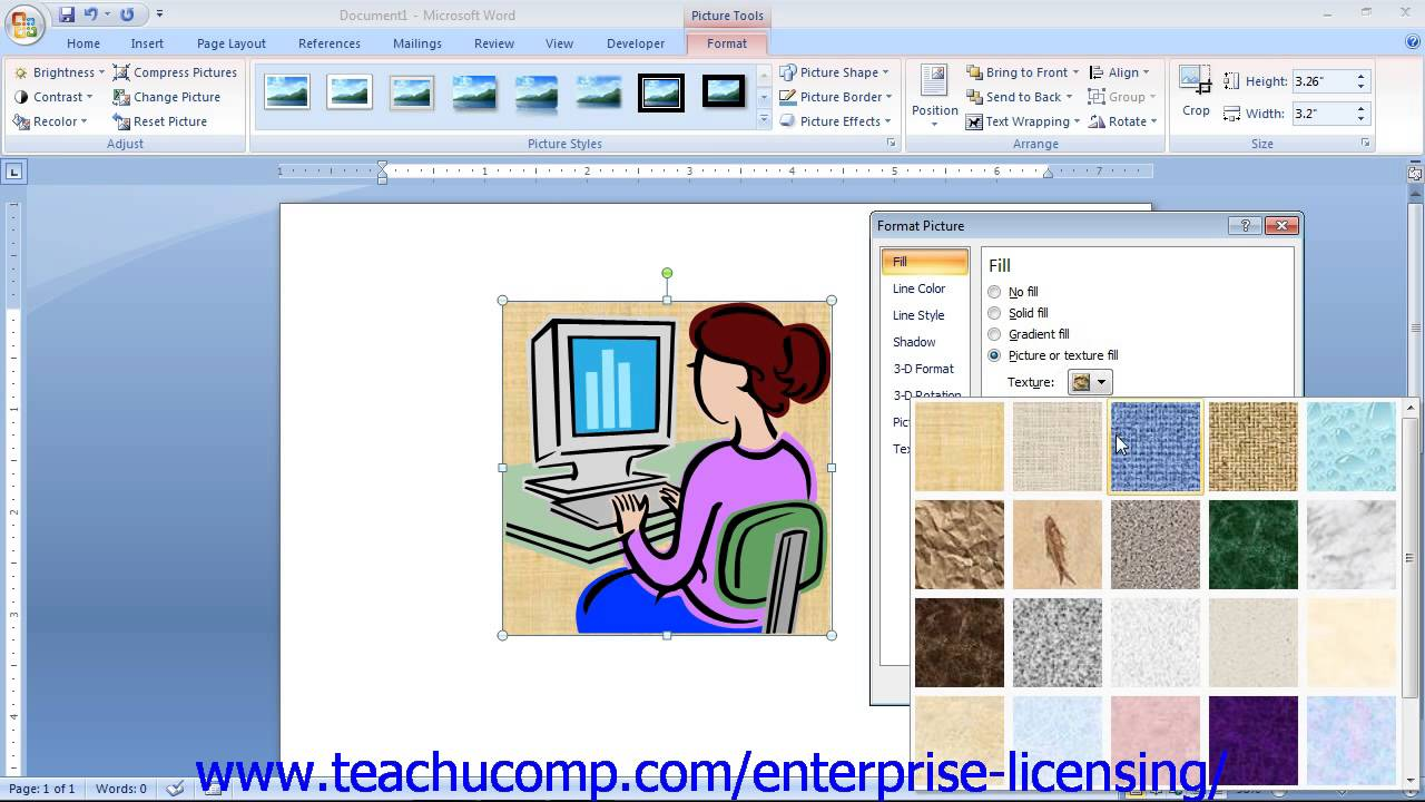 Microsoft Office Word 2013 Tutorial Using Clip Art 12.12 Employee Group  Training.