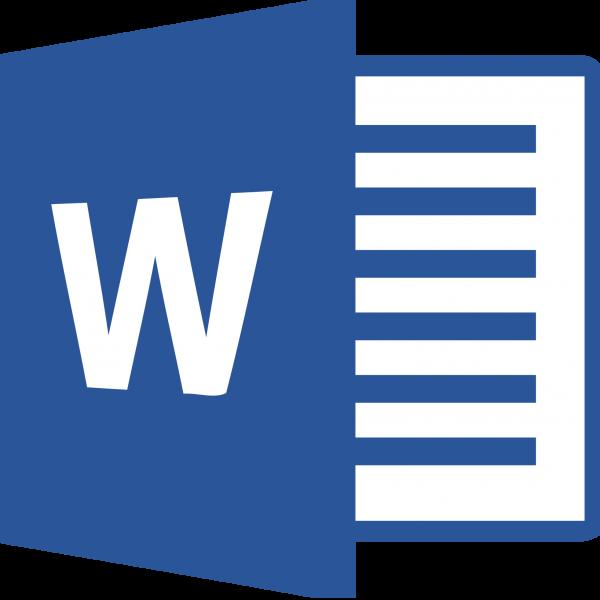 Microsoft word Logos.