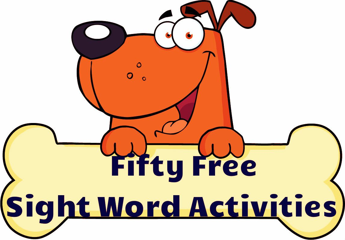 Fifty Free Sight Word Activities! Great for reviewing sight.