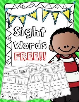 Sight Words Free.