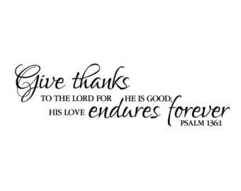 Thanksgiving Bible Verses Clipart.
