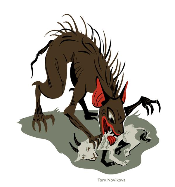 Pin on Monster Illustrations.