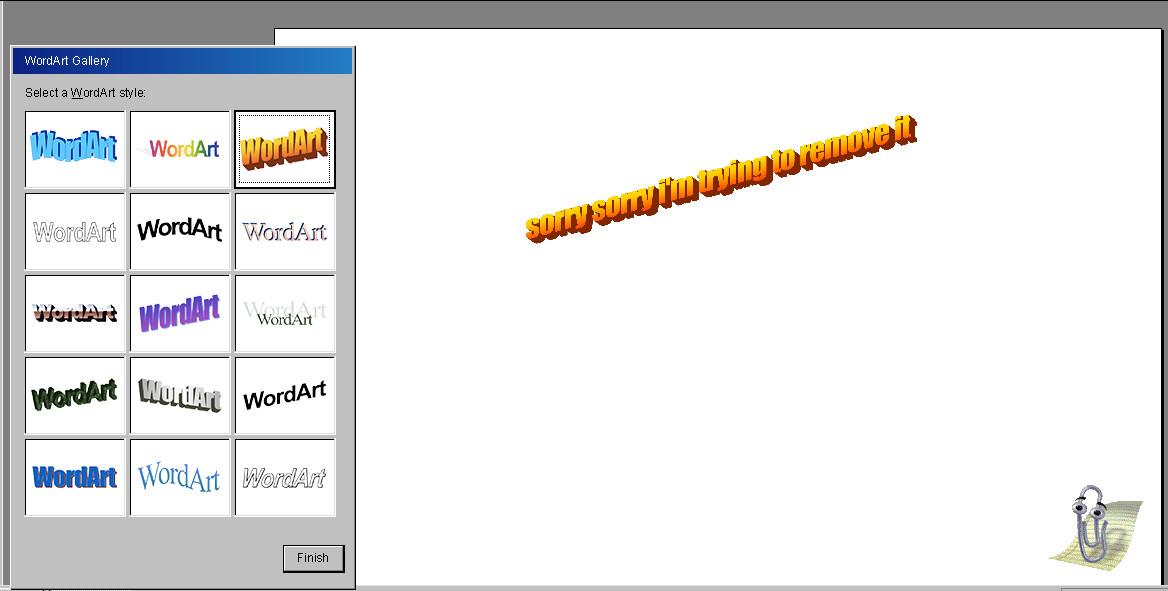Let this retro WordArt generator take you back to 1997.