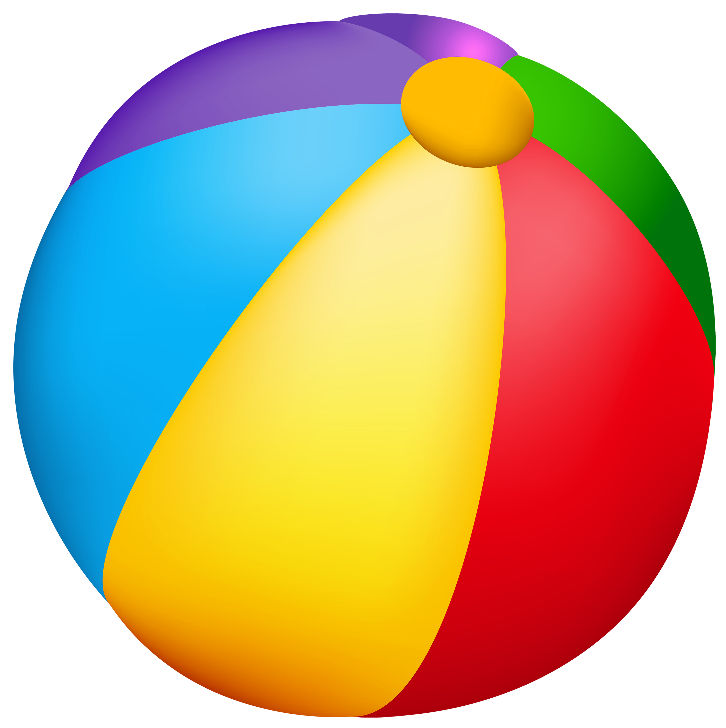 Beach Ball Clipart No Background.
