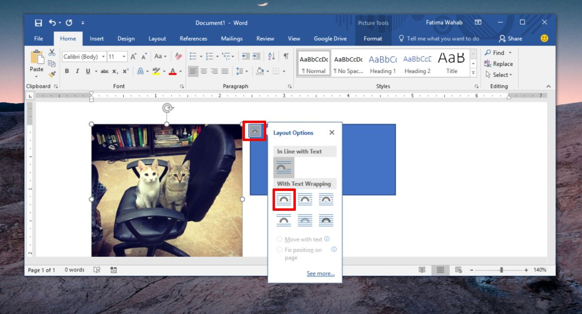 How To Group Pictures And Shapes In MS Word.