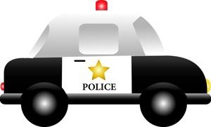 Police Car Clip Art.