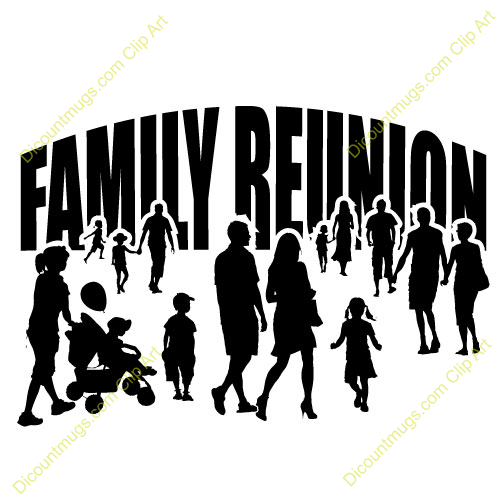 Idea Reunion African American Family Art.