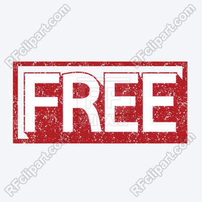 Free word stamp illustration Vector Image.