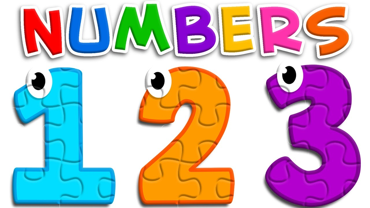 Clipart numbers learning, Clipart numbers learning.