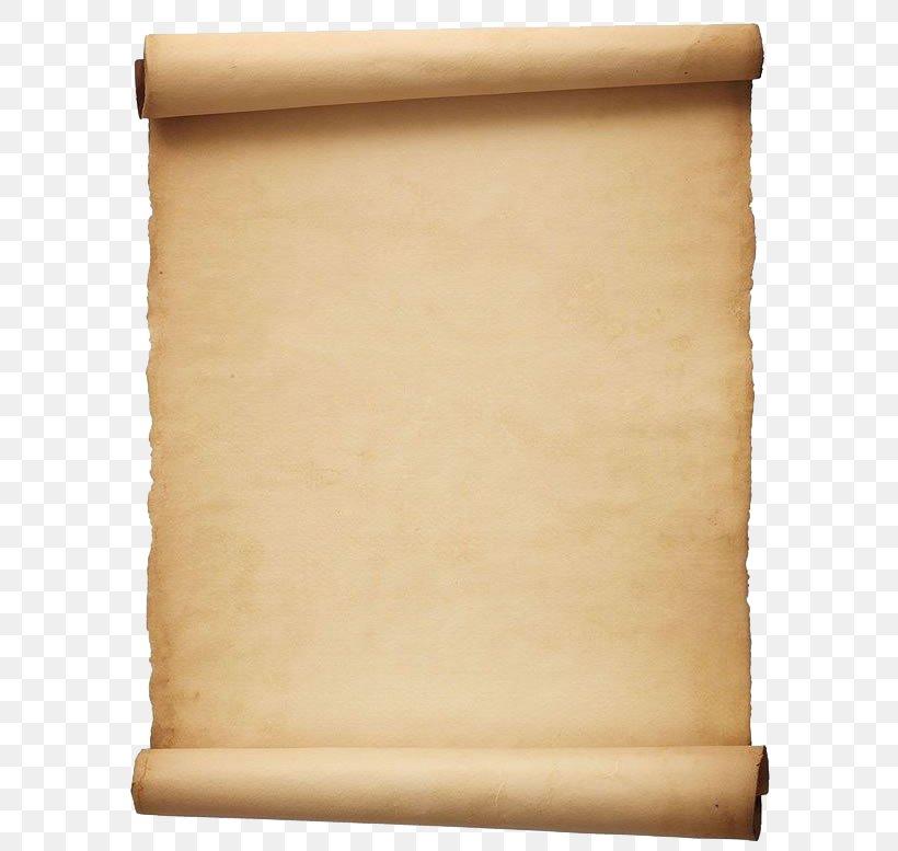 Paper Scroll Parchment Template Clip Art, PNG, 595x777px.