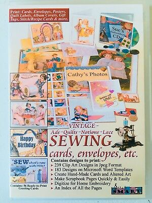 SEWING/QUILTING SOFTWARE CD.