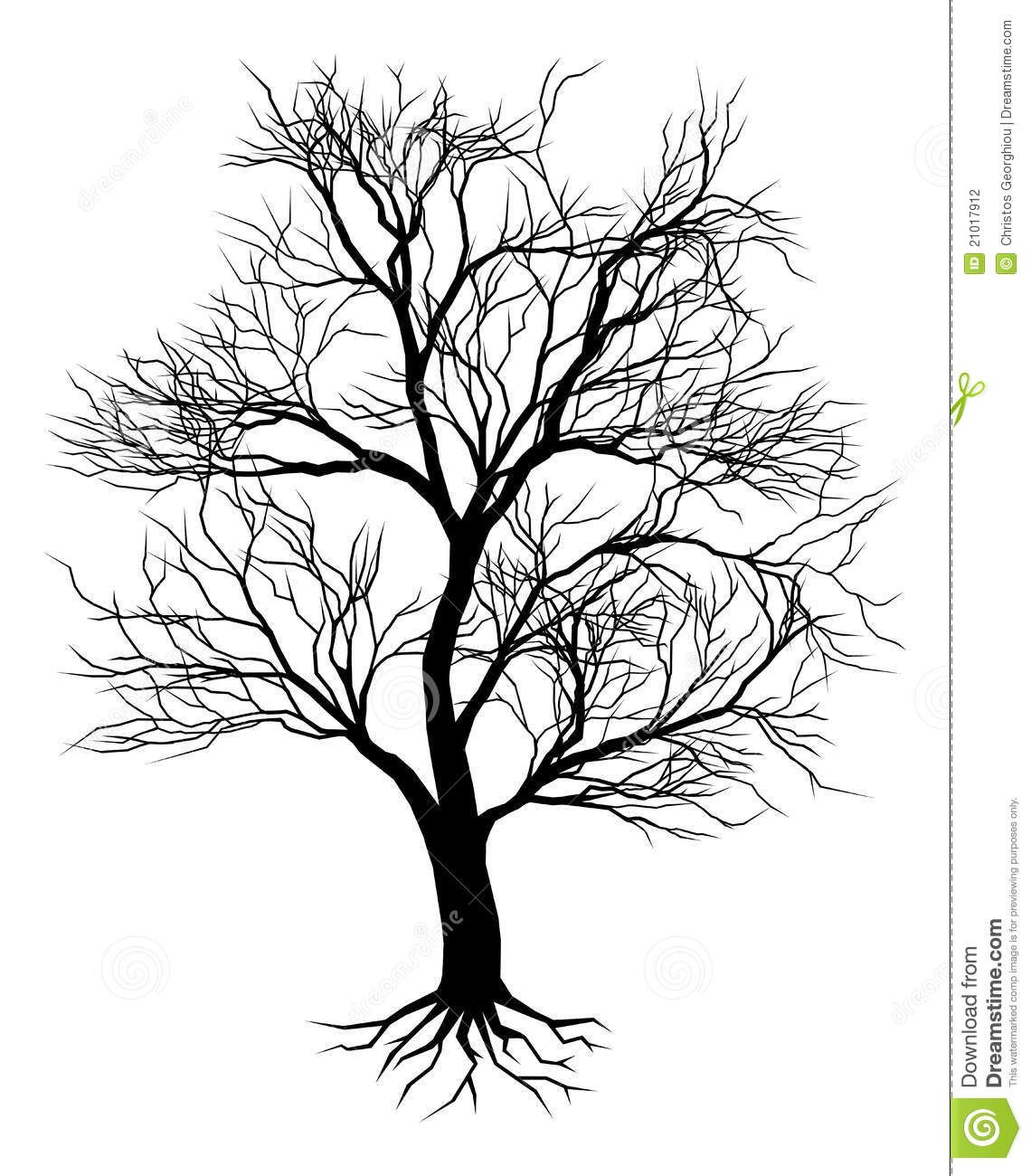 Images For > Dead Oak Tree Drawing.