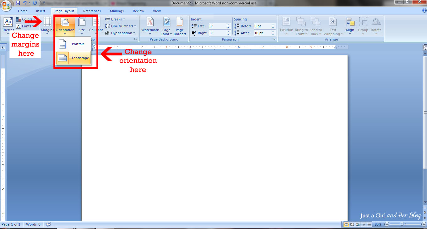 Bunting Border For Word Document.