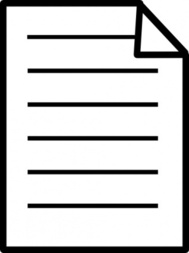 Word document clipart.