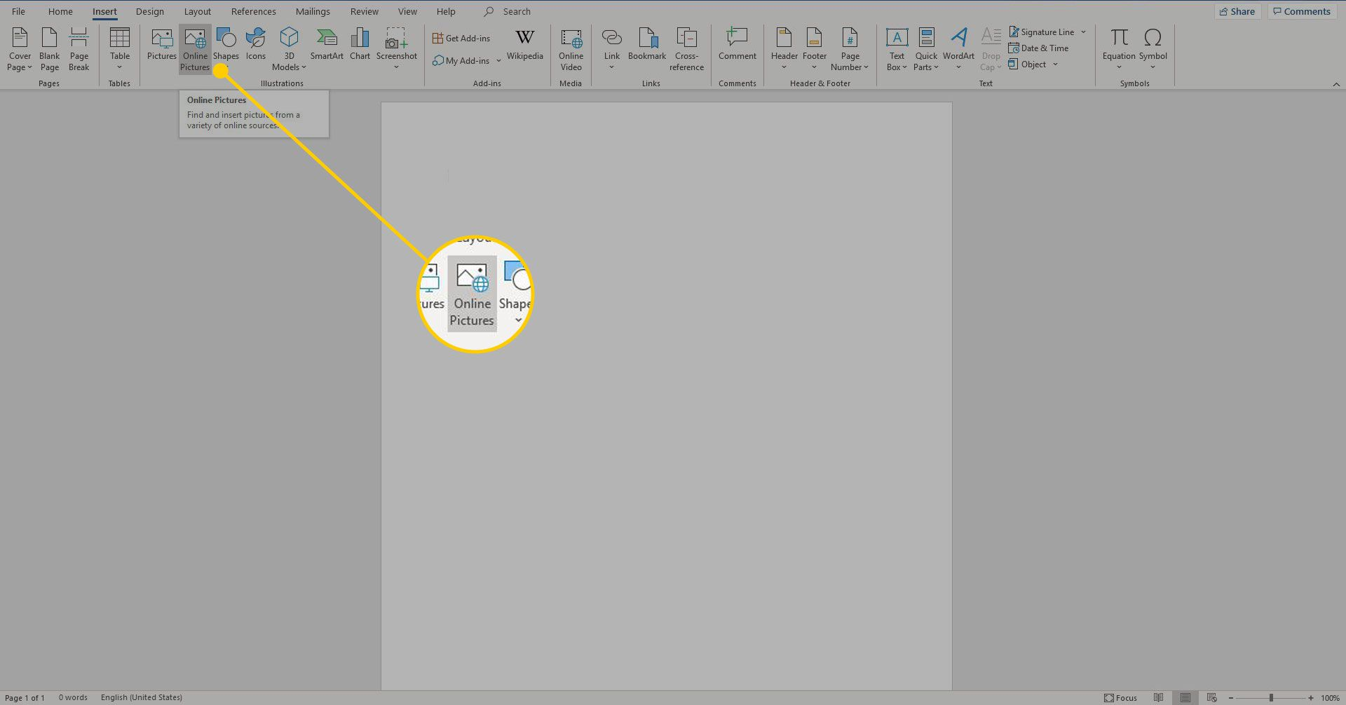 How to Insert Pictures and Clip Art in Microsoft Word.