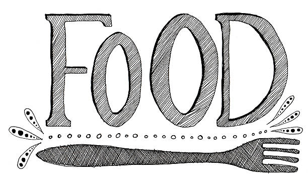 Word Food Clipart.