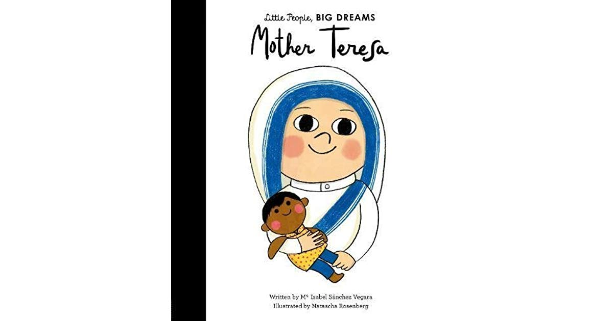 Mother Teresa by Mª Isabel Sánchez Vegara.