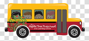 Here Comes The Bus transparent background PNG cliparts free.