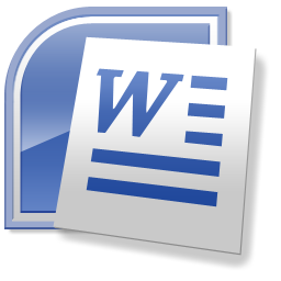 Microsoft Word Icon #3998.