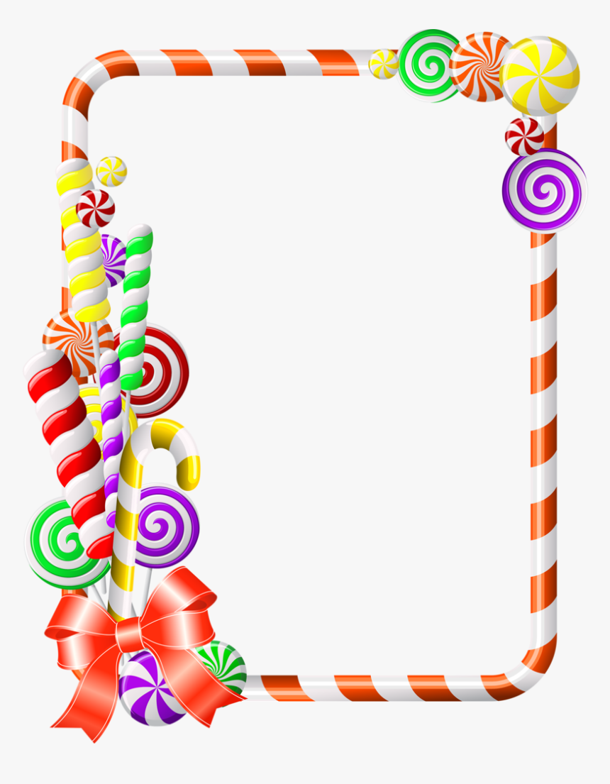 Sweet Border Clipart Candy Cane Clip Art.