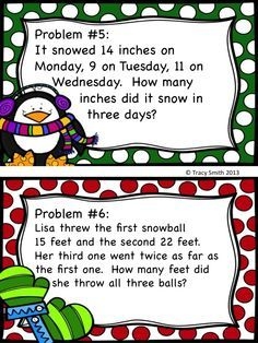 36 Awesome math word problems clipart.