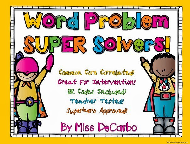 SUPER Solvers To The Rescue!! Word Problem Intervention.